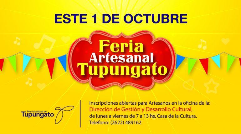 Feria Tupungato Octubre
