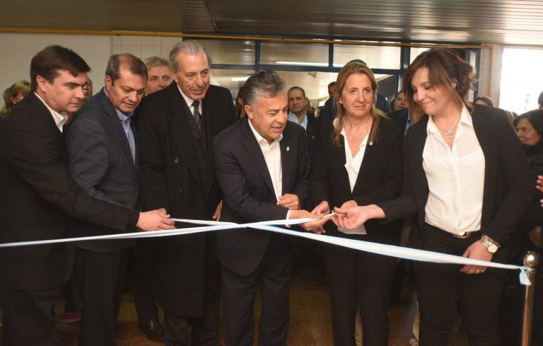 Inauguración primera etapa de ampliaciones Hospital Scaravelli