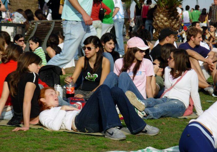 Estudiantes Día de la Primavera