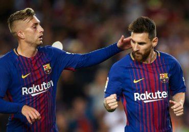 Messi anota 4 goles en un 6-1 del Barcelona vs Eibar.