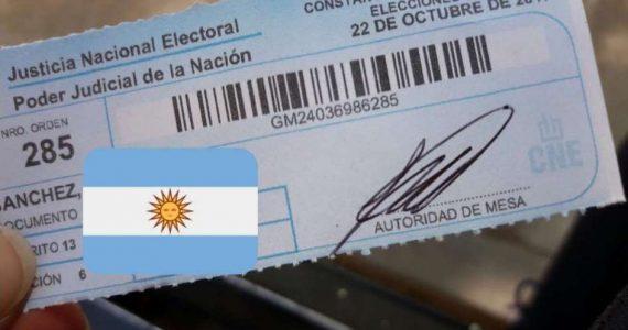 Constancia de Voto