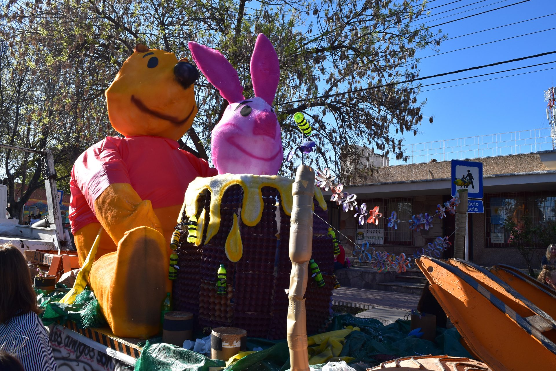 Winnie Pooh ganador 3° puesto categoría A1