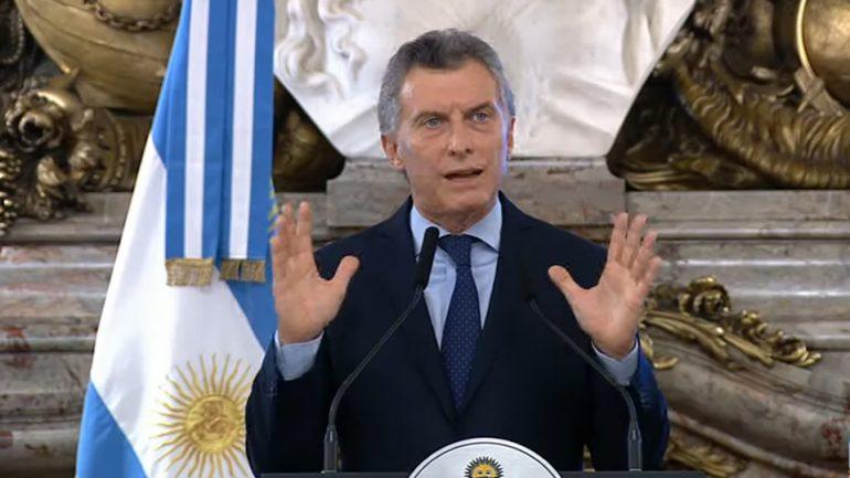 """El presidente admitió que la situación actual """"genera angustia y preocupación"""" en la sociedad"""