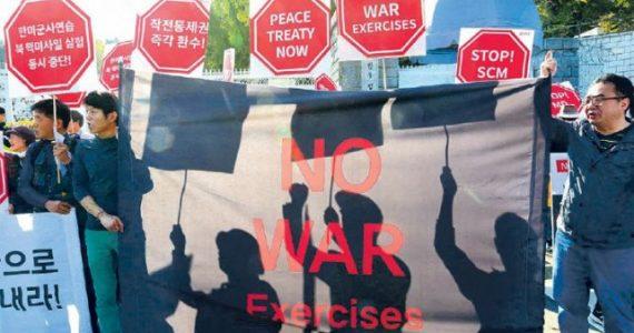 Estados Unidos promete un contraataque militar masivo a Corea del Norte