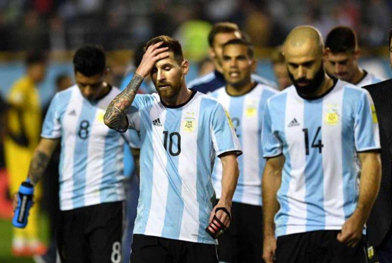 Empate Argentina Perú