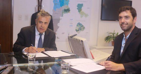 Mendoza y ANSES firmaron acuerdos sobre pensiones y jubilaciones