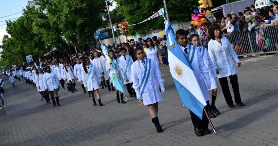 Desfile Escolar Civico Militar Tupungato