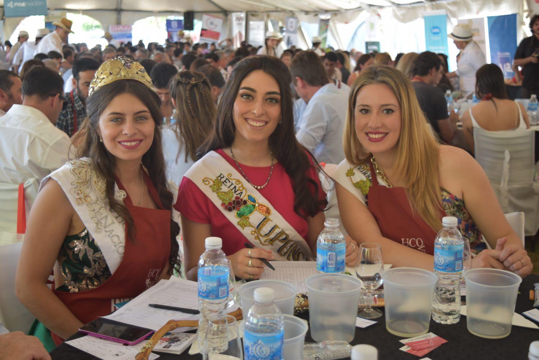 Las reinas del Valle de Uco participaron de la jornada