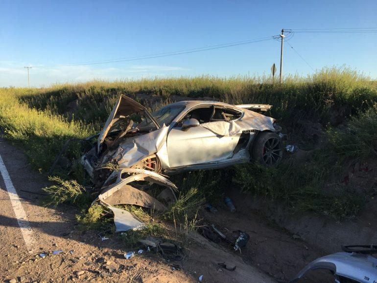 Se salvó de Milagro: así quedó el vehículo tras el accidente