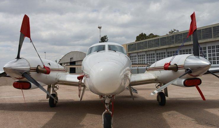 avión antigranizo