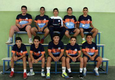 Campeones menores de Handball Tgto
