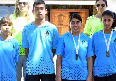 Jóvenes tupungatinos se destacaron en deportes adaptados de los juegos Nacionales Evita.