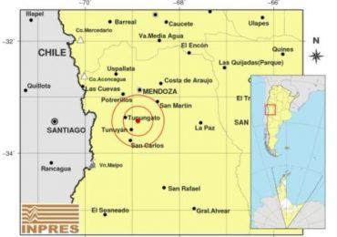 Temblor en Mendoza