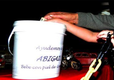 Peso por peso. Muchos tupungatinos colaboran con la causa de Abigail, ya que la beba no podrá regresar a su hogar si no lo mejoran.