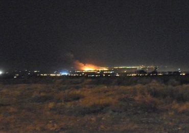 Incendio Tupungato