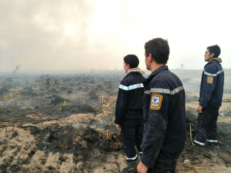 Incendios en el Sur: el 100% del perímetro está contenido