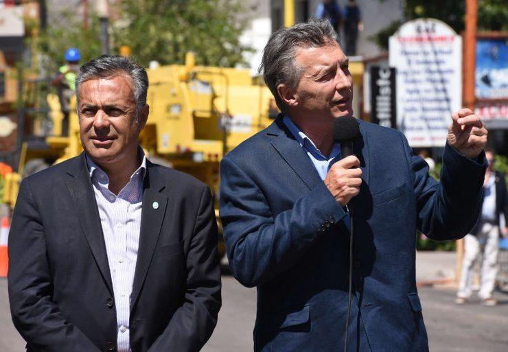 Enero. Macri en su última visita a Mendoza, en San Rafael.