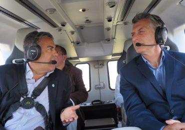 """Macri: """"Hacemos lo imposible por mitigar los incendios"""""""