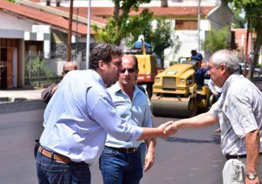 El ministro Kerchner recorrió obras en Tupungato
