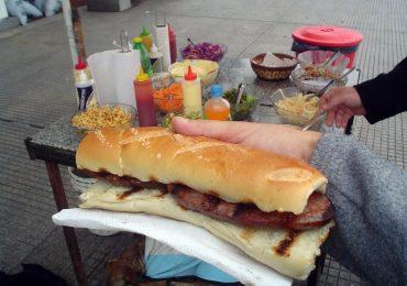 Venta de comidas en la Vía Pública Tgto