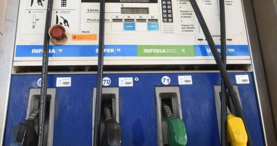 Suba en Combustibles