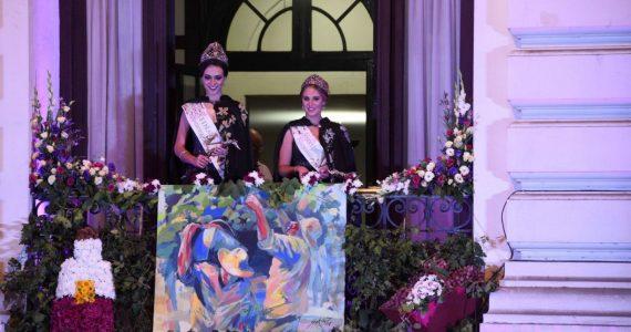 Las nuevas soberanas vendimiales disfrutaron su serenata tras la coronación