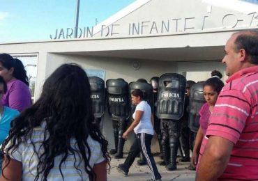 Disturbios en Tunuyán tras la detención de un celador acusado de abusar de una nena