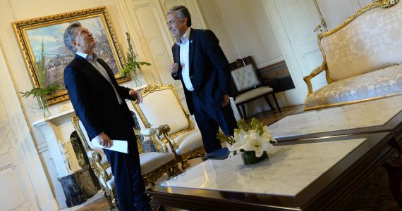 """""""Hemos sido escuchados"""", aseguró el Gobernador al finalizar el encuentro que mantuvo junto al Presidente donde le presentó la propuesta elaborada por los equipos técnicos del Gobierno de Mendoza."""