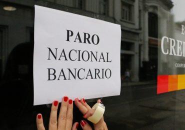 La Bancaria busca meter presión con un paro