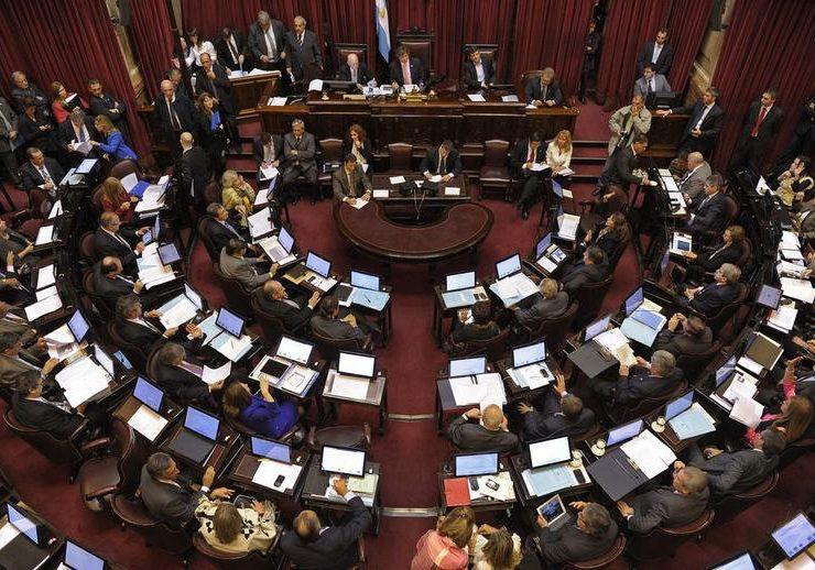 """El presidente provisional del Senado, Federico Pinedo, aseguró que el proyecto de ley está """"en condiciones de ser aprobado""""."""