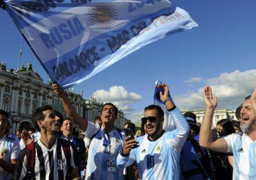 Colapso total con los hinchas argentinos en el Mundial
