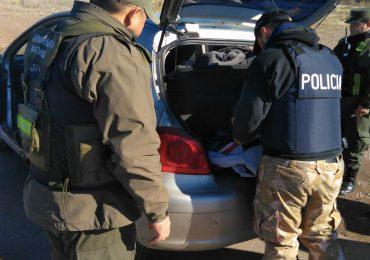 Gran operativo en conjunto entre Gendarmeria y Policía en los Cerrillos