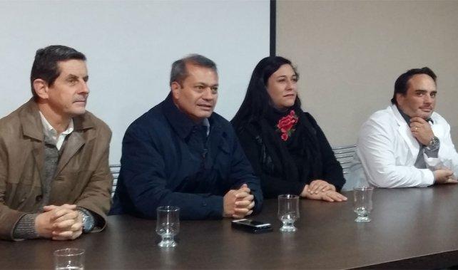 Eduardo Hidalgo asumió como nuevo director del Hospital Las Heras
