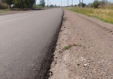 Finalizó la repavimentación de la ruta provincial 92 en el Valle de Uco