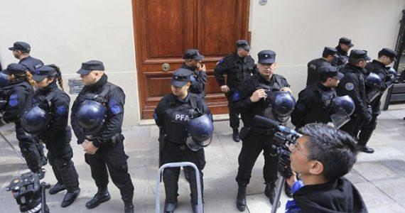 Allanamiento Cristina Kirchner