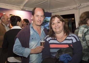 Gustavo Soto junto a Liza Cendoya