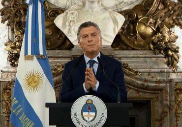 """El presidente anunció en su discurso el fracaso del """"gradualismo"""". AFP"""