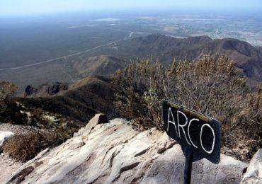 Luego del Incendio se busca restarurar el emblematico cerro mendocino