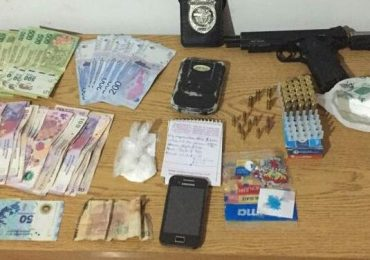 Los efectivos secuestraron drogas, armas y dinero en efectivo. Ministerio de Seguridad