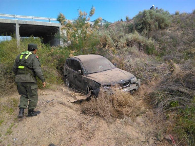 Ocurrió en la ruta 40, a la altura del kilómetro 3.200. El conductor sufrió politraumatismos.