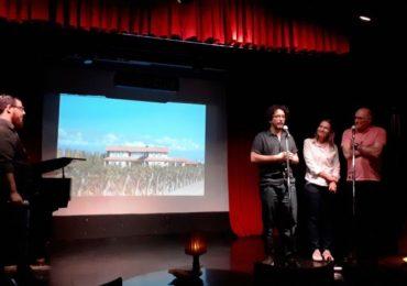 Gabriel Cygielnik, AldoGraziani, Sonia Ruseler y HumbertoPersano, creadores de Uco Jazz Festival, durante el lanzamiento en BebopClub.