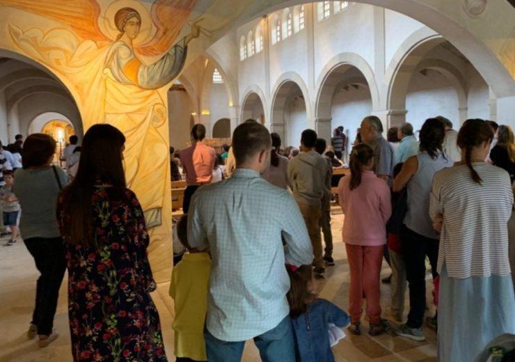 Cristo Orante Monasterio