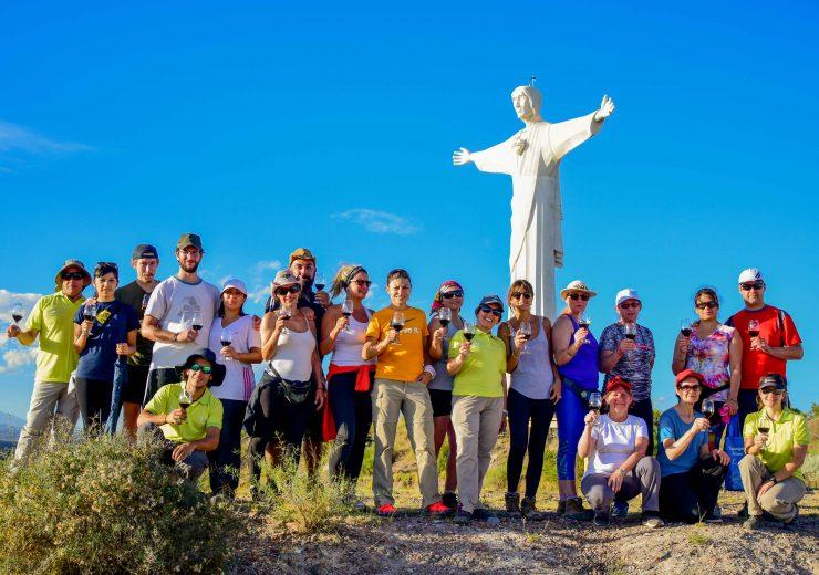 Caminata al Cristo Rey Tgto13