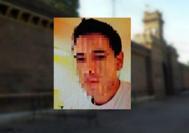 El guardiacárcel acusado (se pixela su rostro por tratarse de una causa privada).