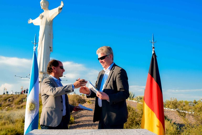Firma de Declaración de Intención de Amistad Bietigheim-Bissingen & Tupungato1
