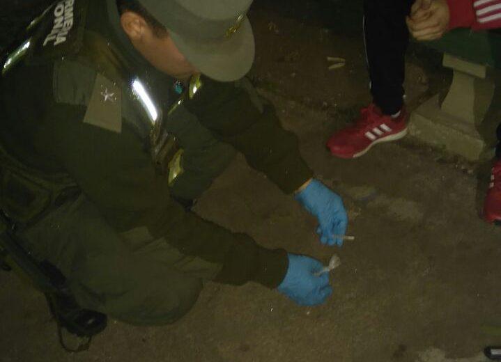Secuestro de Marihuana