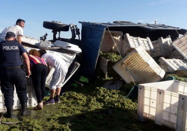 Acidente camion tupungato