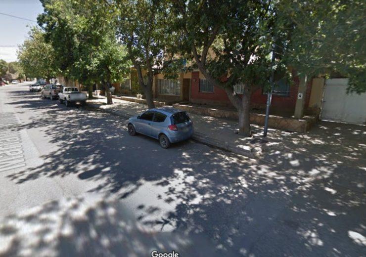 El hecho sucedió en Calle Mariano Moreno de Tupungato