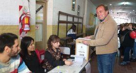 Aveiro arrasó y se encamina a su reelección en Tunuyán